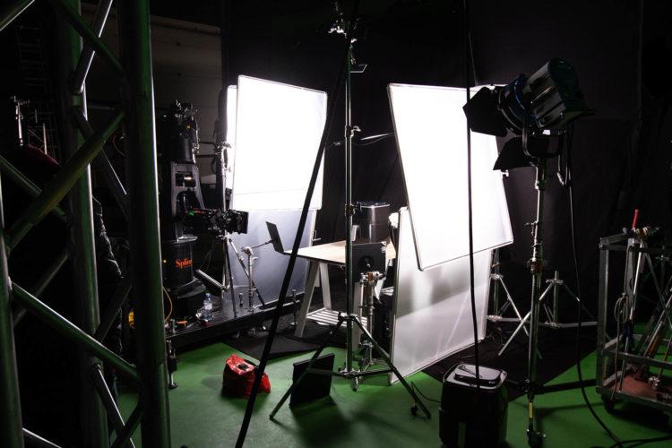Vue de l'intérieur d'un studio du Pôle PIXEL