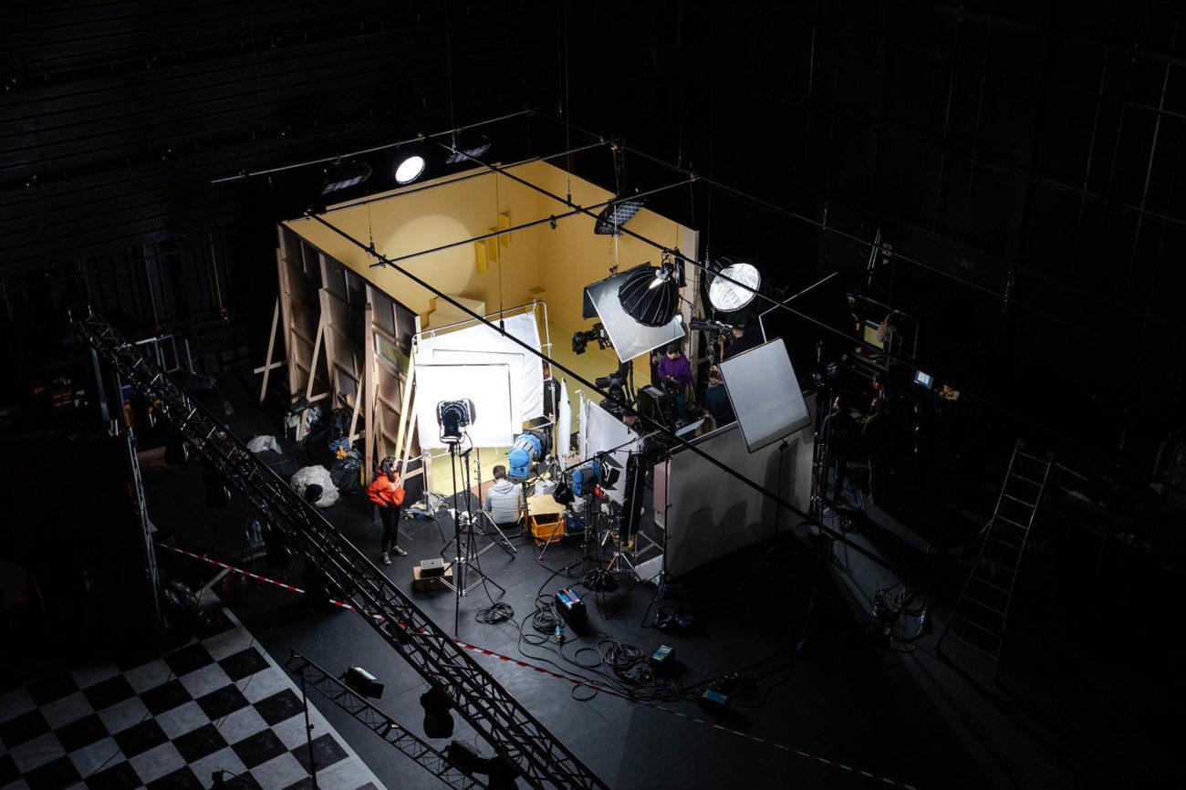 Pôle PIXEL - photographie d'un studio
