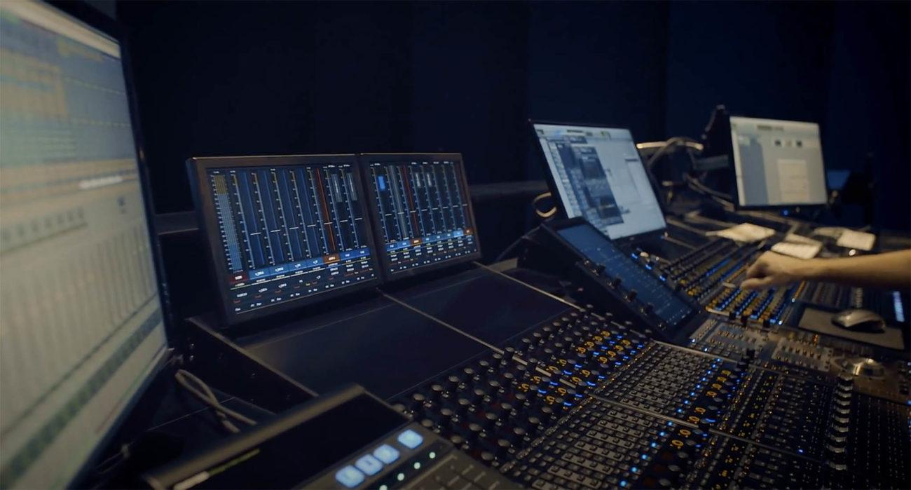 Vu du studio Lumières Numériques