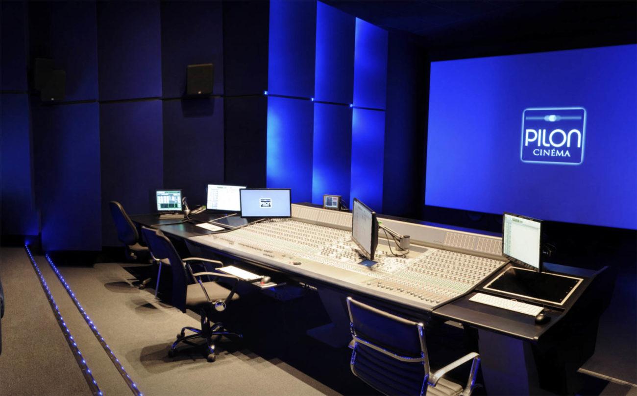 Vue du studio de Pilon Cinéma