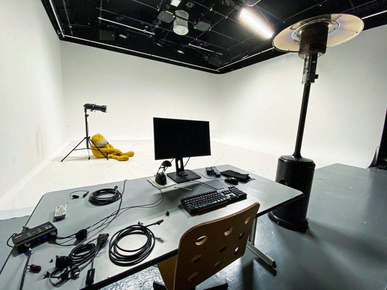 Intérieur du studio Lablab